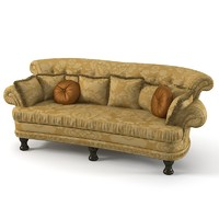 Provasi Friends Classic Tufted Upholstery Sofa comfortable