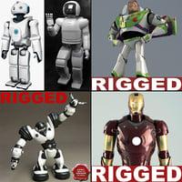 robots asimo honda max