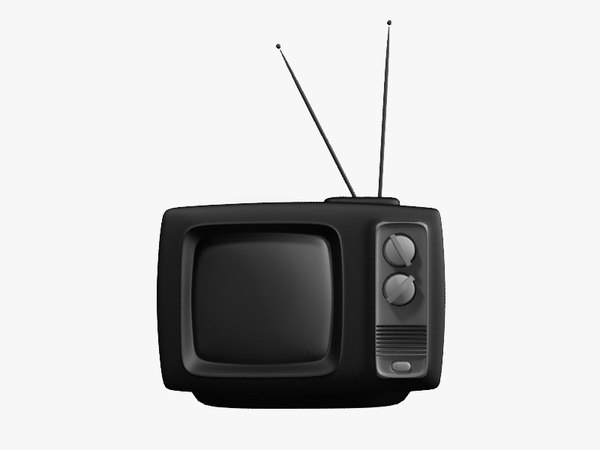 obj classic retro tv