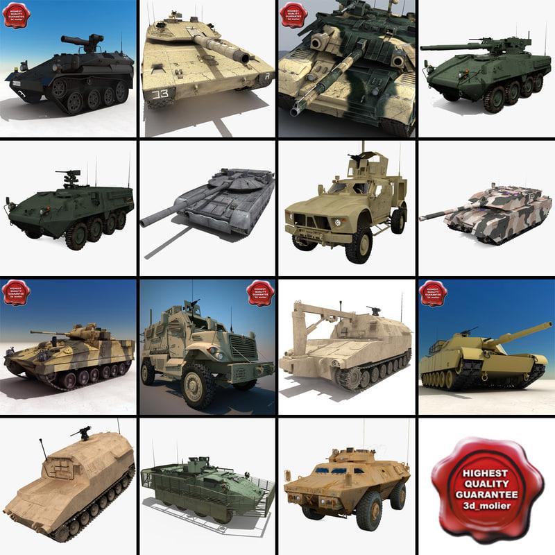 tanks v14 m1117 apc 3ds
