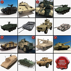 tanks v14 m1117 apc 3ds
