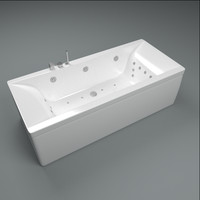 bathtub tub bath 3d max