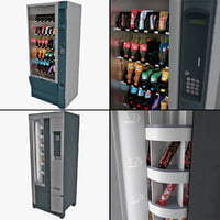 3d model vending machines