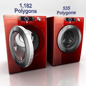 washing machine d 3d max