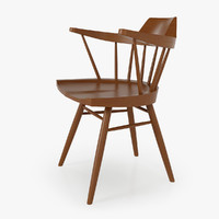 Chair - Captains Chair by George Nakashima