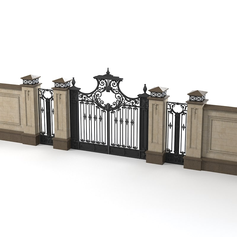 Fence villa max for Luxury fences