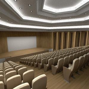 3d amfitheatre theatre theater