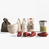 Kitchen Decoration Set 2
