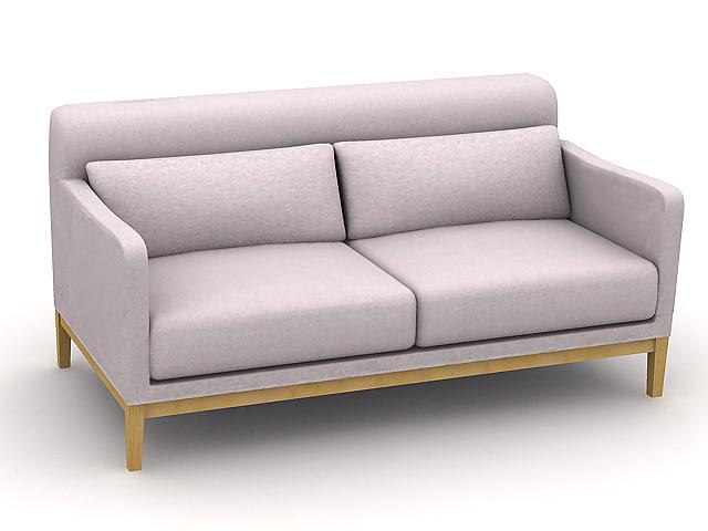 sofa s219b 3d model