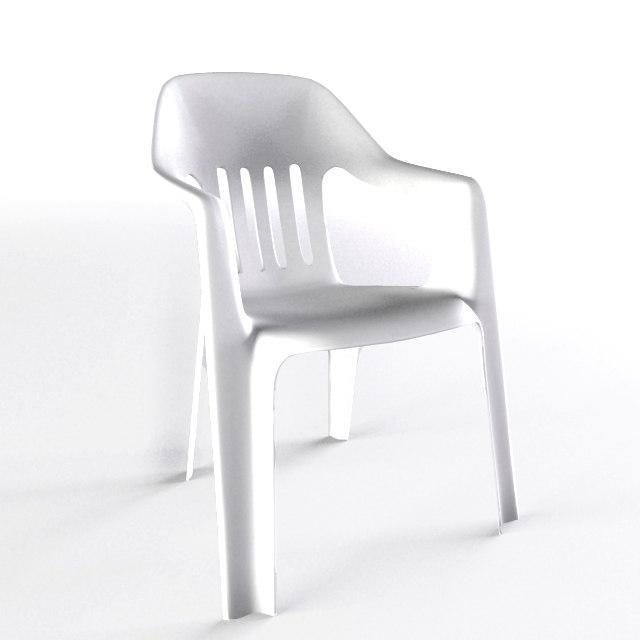 outdoor garden chair 3d max
