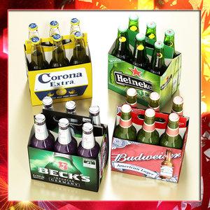 3d beers pack