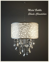 Metal Bubble Shade Chandelier