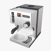 espresso coffee machine lancilio 3d model