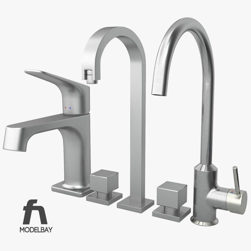 3ds bathroom kitchen sink mixers