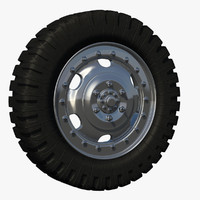 truck gear rim c4d