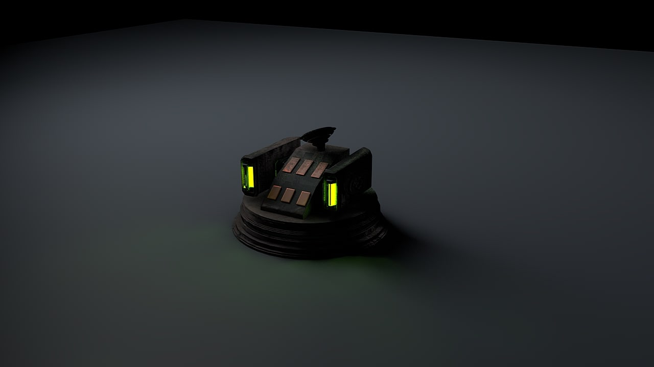 3d model plasma turret
