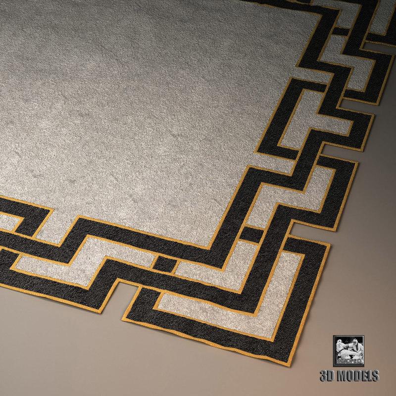 3d model visionnaire carpet asoka