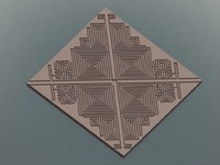 celtic maze 3d max