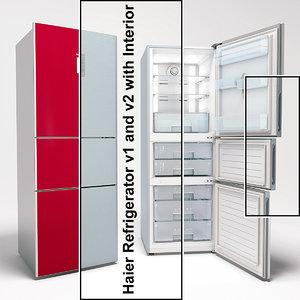 haier refrigerator v1 v2 3d ma