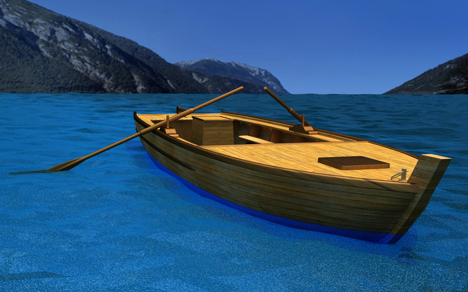boat 3d 3ds
