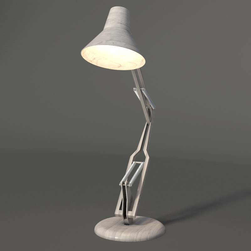 3d max table lamp light