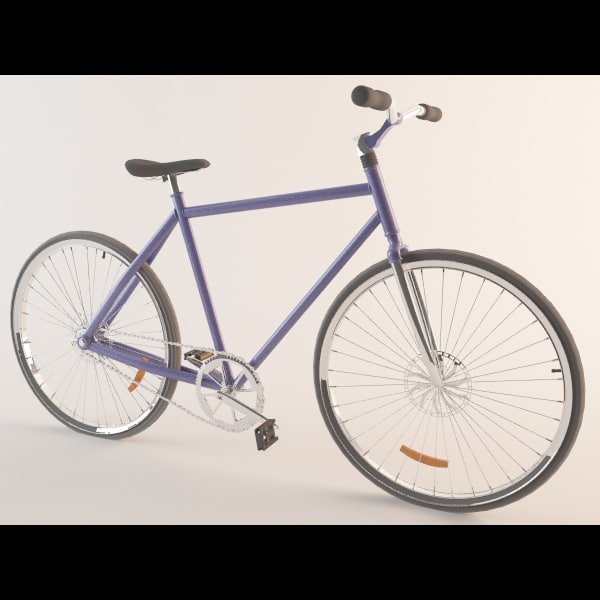 bicycle cycle 3d max