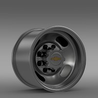Chevrolet Silverado 3500HD 2008 rear rim