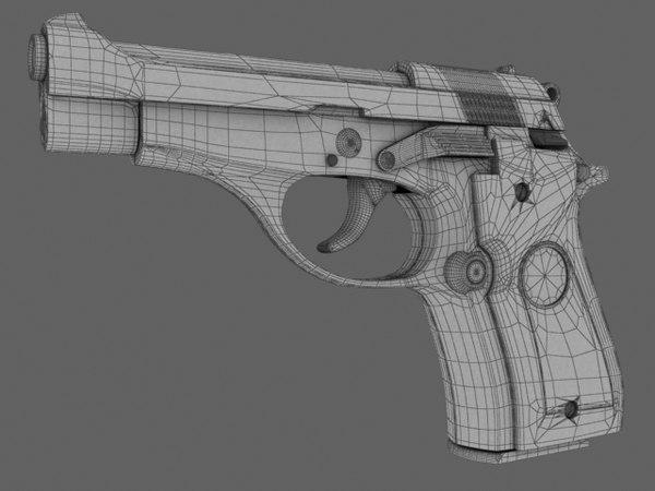 beretta m84 gun 3ds