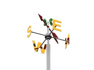 3d dwg weathervane weather vane