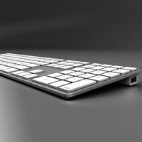 keyboard 3d max