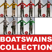 Aviation Boatswains Static Collection