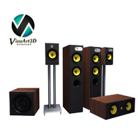 3d model 684 theatre speaker