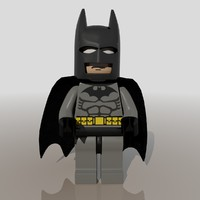 Batman Lego Figure