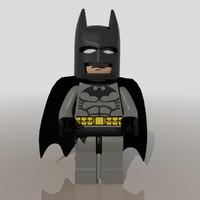 Batman Lego Figure