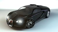 bugatti veyron c4d