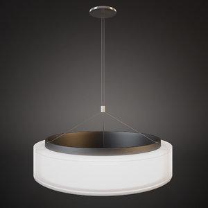 3d chandelier norlight bubble 1000 model