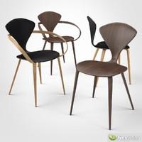 3d model plywood armchair cherner