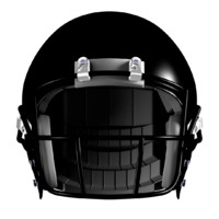 american football helmet facemasks 3d model