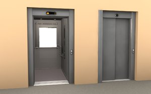 3ds max elevator office apartment building