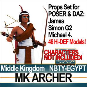 3ds max props set daz mk