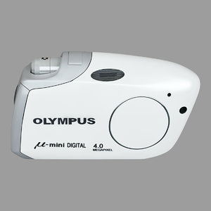 3d olympus m mini white