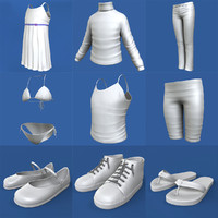 max little girl clothing pack