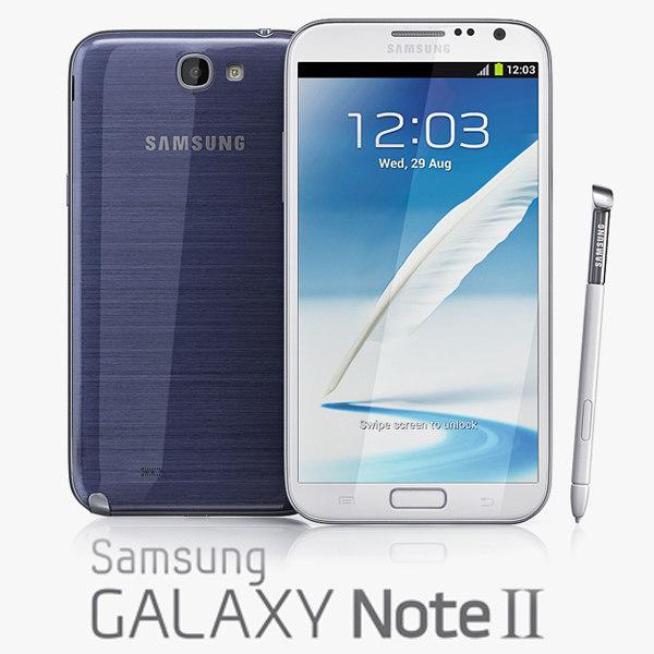 3ds samsung galaxy note ii