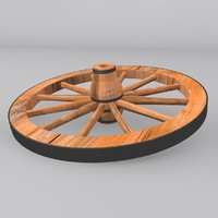 3d wheel modeled