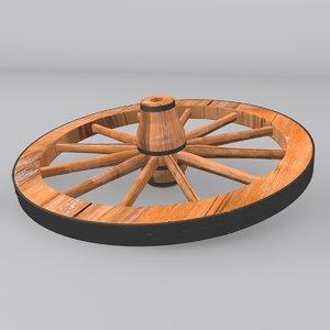 3d wheel modeled
