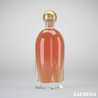 3d bottle whisky