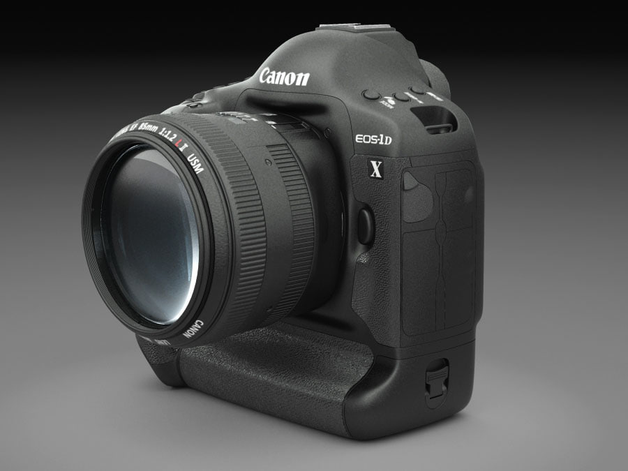 3d canon dslr camera lens