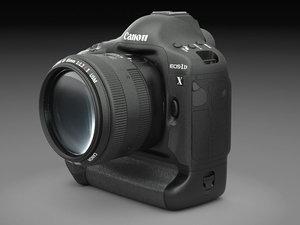 3d canon dslr camera lens
