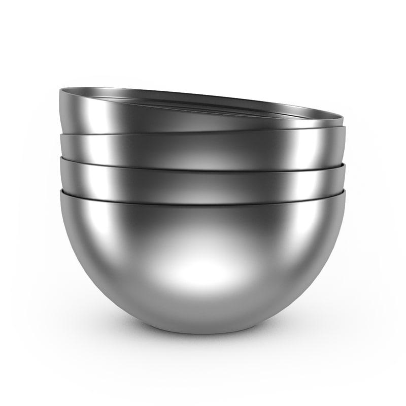 metal bowl max