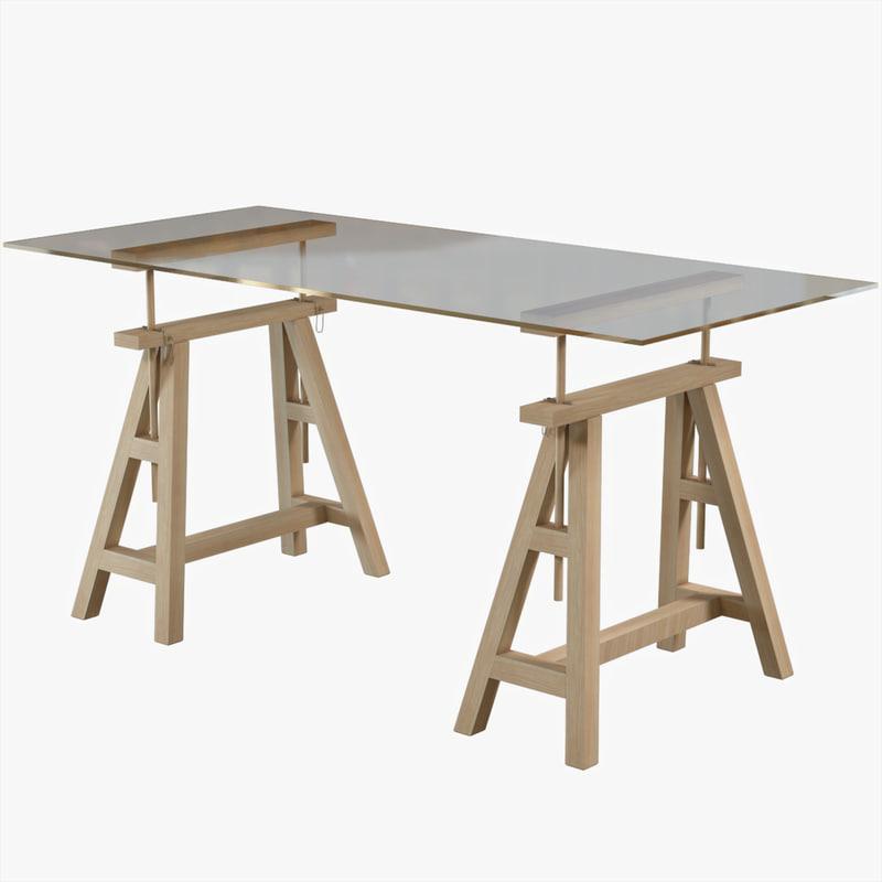 3d unwrapped desk tbl04574
